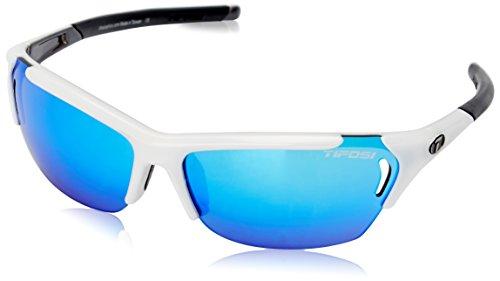 Tifosi Brillen Radius Wht-Gunm/Blu-Red-Clear Uni (Tifosi Radius Sonnenbrille)