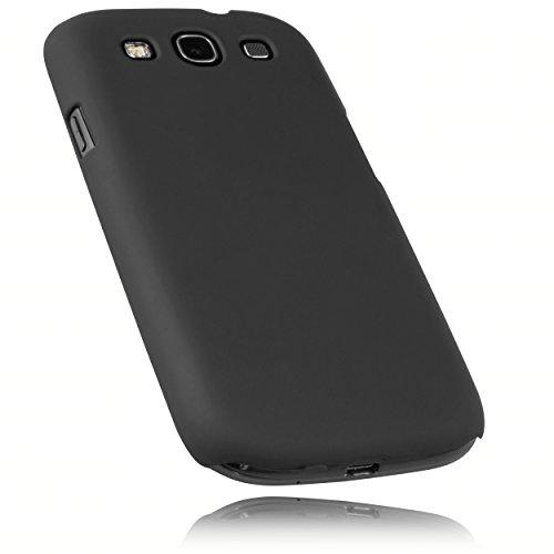mumbi Schutzhülle für Samsung Galaxy S3 i9300 / S3 Neo Hülle (harte Rückseite) matt schwarz