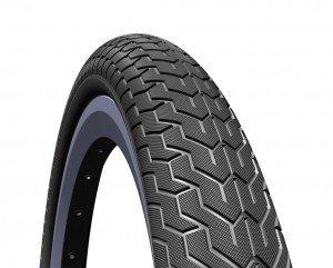 Mitas BMX-Reifen 'Zirra R V 88 Classic 22', 20x2.10' 54-406, schwarz (1 Stück) (Flatland-bmx Bikes)