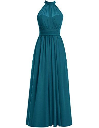 HUINI -  Vestito  - Donna Ink_Blue