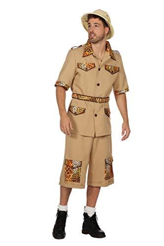 Wilbers Herren Kostüm Safari Abenteurer Ranger Karneval Fasching - Safari Ranger Kostüm