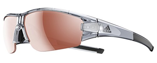 adidas Evil Eye Halfrim Grey transparent Shiny/lst 2019 Fahrradbrille