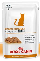 Royal Canin Senior Consult Stage 1 Nourriture pour Chat 1,2 kg