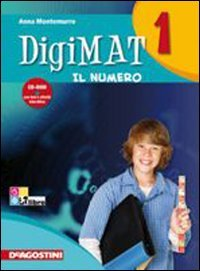 Digimat. Per la Scuola media. Con CD-ROM: DIGIMAT 1 ARIT+GEOM+INV +CD