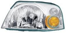 Lumax 081-HLA-XL Left Head Lamp Assembly for Hyundai Santro Xing
