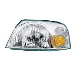 Lumax 081-HLA-XL Left Head Lamp Assembly for Hyundai Santro Xing