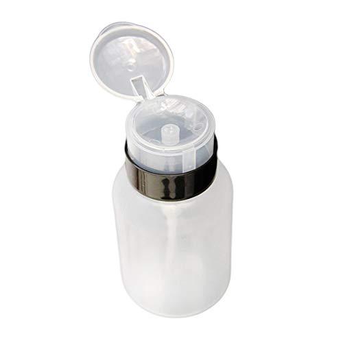 210 ml Vacío Transparente Dispensador Líquido La