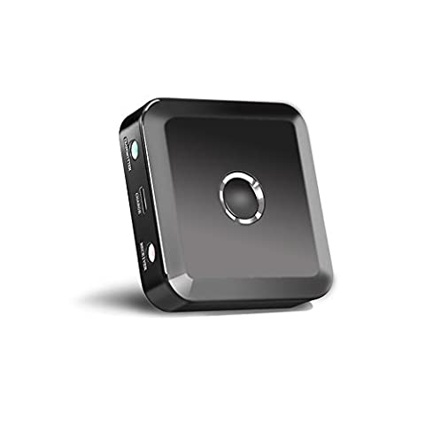 LURICO Bluetooth 4.0 Transmitter Empfänger-Adapter Multi-Pair (Connect 2 Devices) Musik-Adapter für jedes Gerät mit 3,5 mm AUX-Eingang / Kopfhörerbuchse Car Stereo Home Audio