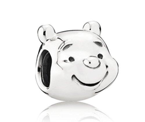Pandora 791566Disney-Anhänger, Winnie the Pooh-Motiv (Gesicht von Winnie the Pooh) (Pooh Stein)
