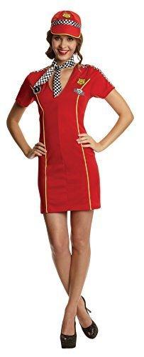 S Damen Rennsport Mädchen Kostüm für Sport Kostüm Outfit