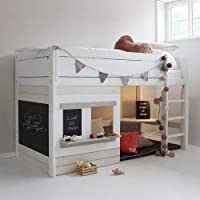 Alfred & Compagnie Nathan III Cabin Bed 90 x 200 cm White