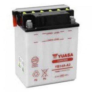 YUASA YB14A-A2 Batterie (Preis inkl. EUR 7,50 Pfand)