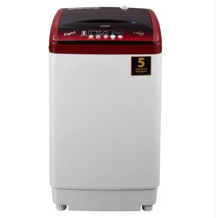 Onida 6.2 kg Fully-Automatic Top Loading Washing Machine (T62CRD, Lava Red)