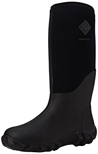 Muck Mens Edgewater II Black Rubber Boots 44-45 EU 71275cee796a