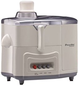 Preethi Essence CJ 101 600-Watt Juicer (White)