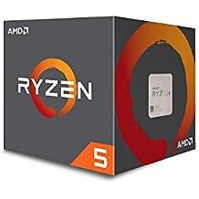 AMD Ryzen 5 1400 3.2GHz Caja - Procesador (AMD Ryzen 5, 3,2 GHz, Socket AM4, PC, 32-bit, 64 bits, 3,4 GHz)