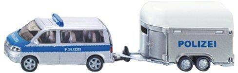 Siku 2310//1:55 Super Polizia-Auto con rimorchio cavalli