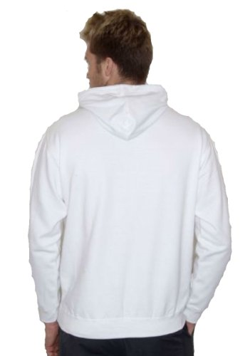 Just Hoods Varsity Sweat-shirt à capuche Flaschengrün / Rot