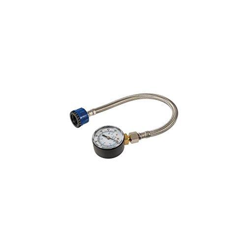 Silverline 482913- manómetro para conductos de agua, oro