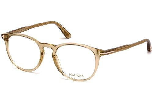 Preisvergleich Produktbild Tom Ford - FT 5401, Rechteckig, allgemein, Herrenbrillen, TRANSPARENT LIGHT BROWN(045 H), 51/20/145