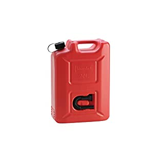 Hünersdorff 802060 Jerry Can Profi, red, 20 L