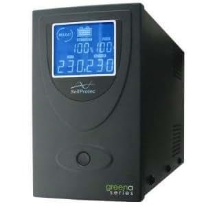 Onduleur Inline Mistral Green-A 1500VA 2 prises schuko +LCD