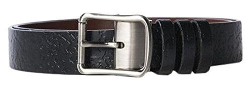 adidas Damen Reversible Belt Wendegürtel, Black/Brown, One Size (Print Reversible Belt)