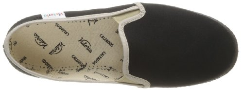 Victoria Slip On, Baskets mode mixte adulte Noir (Negro)
