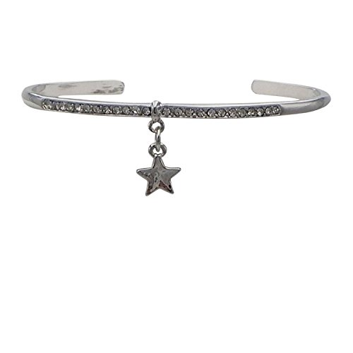rosemarie-collections-da-donna-con-strass-bracciale-silver-star