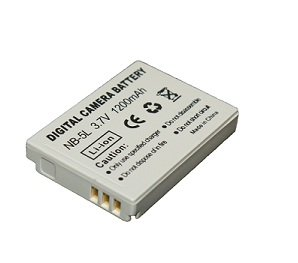 High Capacity - Rechargeable Battery for Canon POWERSHOT Digital Cameras - Replacement for Canon NB-5L / NB-5L Battery - AAA
