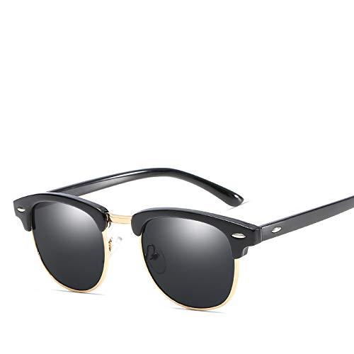 AAMOUSE Sonnenbrillen Neue Sonnenreis Retro Trend Männer Frauen ultraviolettbeweis HD-Brillen Design der berühmten Master Full Frame Brille OEM