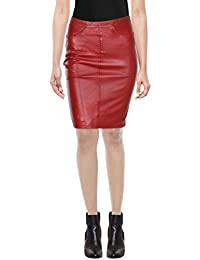 d8cb49c517 Leather Women's Skirts: Buy Leather Women's Skirts online at best ...