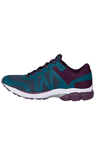 Zakti Only Way Is Forward Run Trainers Laghetto Blu