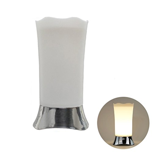 LEDMOMO Lámpara de escritorio Lámpara de mesa inalámbrica de luz de sensor de movimiento Lámpara...
