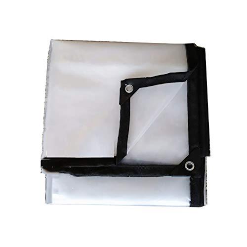 Telone Pannelli Tela Spessa Trasparente Pellicola di plastica per la Pioggia Auto Isolante Pellicola carnosa Finestra di Serra (Dimensioni : 2m×3m)