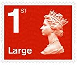 15 x Large Letter 1st Class Stamps Self Adhesive