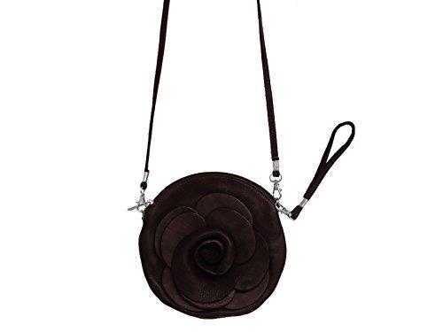 scarlet bijoux, Borsa a tracolla donna Marrone - blu scuro