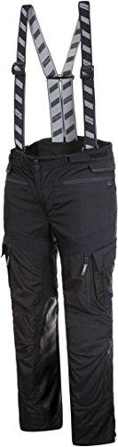 Rukka Roughroad - Pantaloni da moto in Gore-Tex, taglia 54, colore nero/bianco
