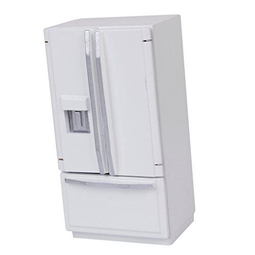 1/12 Casa De Munecas Muebles En Miniatura Nevera Refrigerador