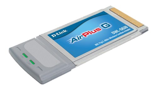 D-Link AirPlus G DWL-G630 Wireless CardBus Adapter Internal 54 Mbit/s Networking Card - Networking Cards (Wireless, Cardbus, 54 Mbit/Sek, CCK, OFDM, 2.4 - 2.462, WPA) -