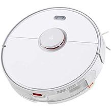 roborock S5 MAX Aspirador Automático Robot y Fregasuelos,Mopa Friega Navegación Inteligente Barre,2000 Pa Muy Potente Succión con Función WiFi, Autocargado Cepillo,Aspira con App Control (Blanco)