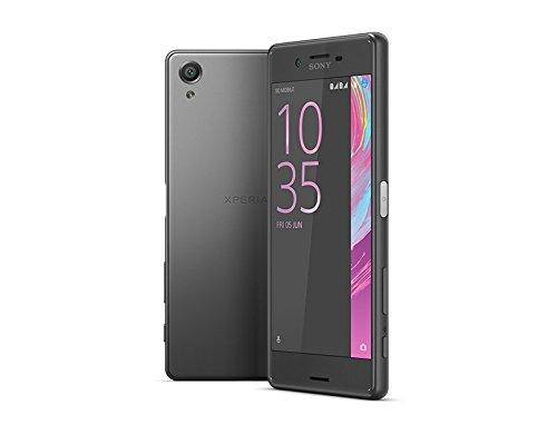Sony Xperia X - Smartphone de 5'' (4G, WiFi, Bluetooth, Nano-Sim, 64-bit Qualcomm Snapdragon 650, memoria interna de 32 GB, 3 GB de RAM, cámara de 23 MP, Android) negro