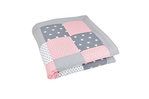 bebilino-manta-para-gatear-y-alfombra-de-juego-para-bebs-acolchada-extra-grande-y-suave-gris-rosado-
