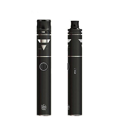 E-Zigaretten Starter Set Ego aio with Dust Cap 1500mAh Akku 2ml Top-Füllung Tank with Schutzkappe Reinigen Gesundheit Nein Nikotin Kein Teer Nein Tabak (Schwarz) … (aiokit01)