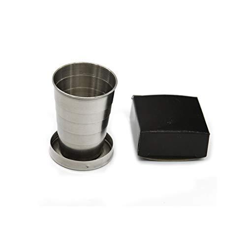 Aryshaa Portable Folding Stainless Steel Travel Camping Water Mug