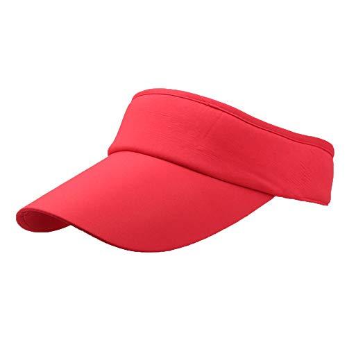 Aiserkly Unisex Visoren Sonnenhüte Hüte Mützen Caps Sport Stirnband Classic Sun Sports Visor Hat Cap Damen Damen Herren Jungen Mädchen - Dorfman Pacific Leder Hut