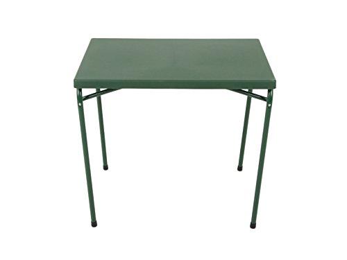 Esstische Klapptisch 80 x 60 cm, grün