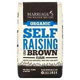Org Light Brown Self Raising Flour 1000g