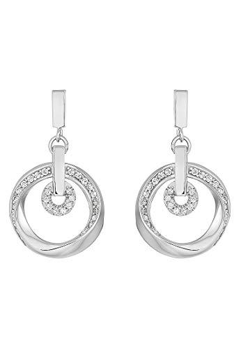JETTE Silver Damen-Ohrstecker 925er Silber 58 Zirkonia One Size 87544664