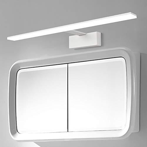 Led Spiegel Scheinwerfer Badezimmerspiegel Beleuchtung Wand WC Spiegel Licht Badewanne IP44 wasserdicht Spiegel Scheinwerfer Wandleuchte erhöht Spiegel Schrank Licht-White-42cm